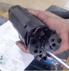 آموزش شارژ کارتریج مرحله 1