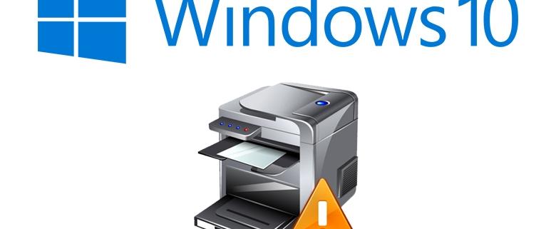 چاپ نکردن پرینتر در ویندوز 7 و 10
