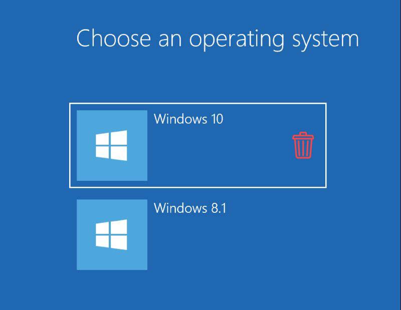 حذف ویندوز اضافه از روی سیستم