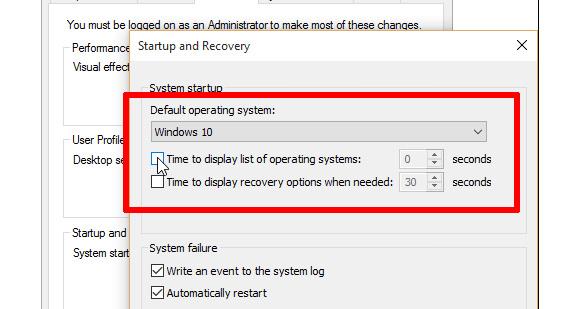 آموزش حذف ویندوز اضافی در ویندوز 10